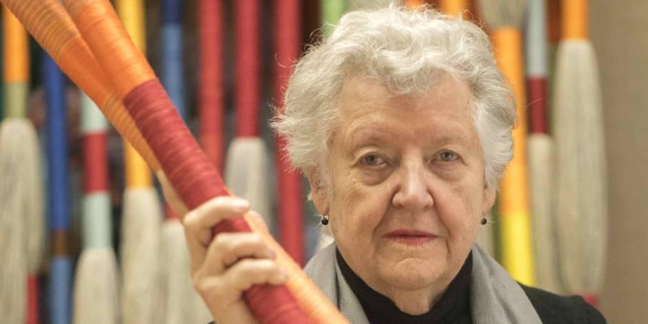Sheila Hicks, la reine des laines au Centre Pompidou