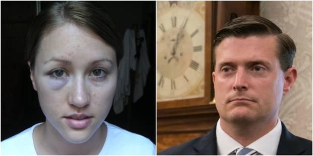 """Etats-Unis: la première épouse de Rob Porter affirme avoir vécu """"dans la peur constante"""" de sa """"colère"""" - La Libre"""