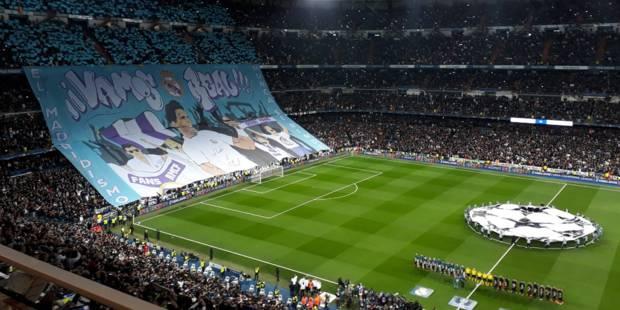 Face au PSG, les supporters du Real présentent un tifo avec Nadal (et ce n'est pas pour rien) - La Libre