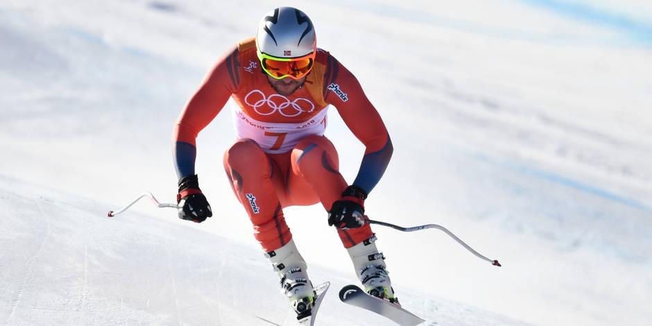 Le Norvégien Aksel Lund Svindal champion olympique de descente à 35 ans