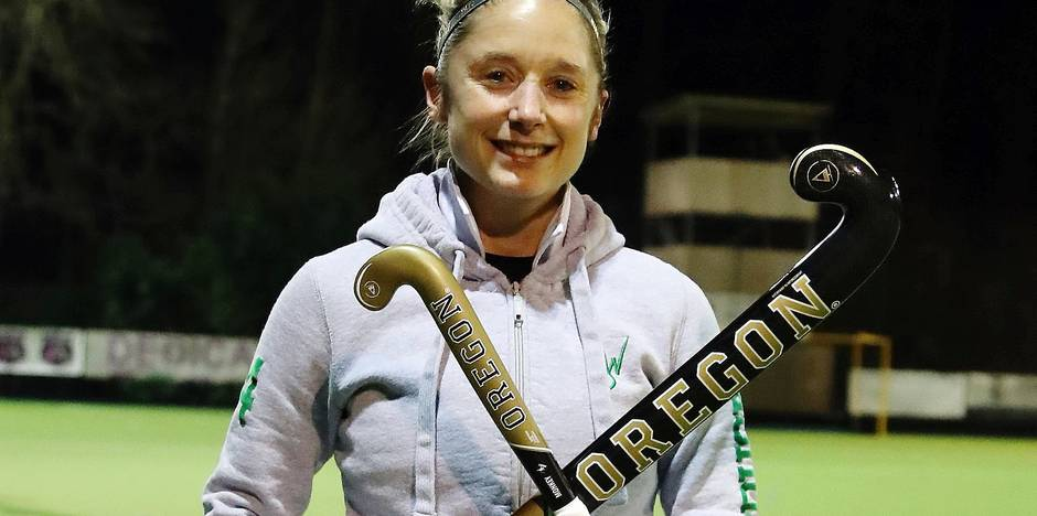 Hockey championnat Dames Honneur Waterloo Ducks Emilie Sinia