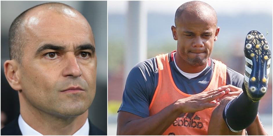 """Martinez fait le bilan à quatre mois du Mondial: """"Je ne prends Kompany que s'il est fit"""""""