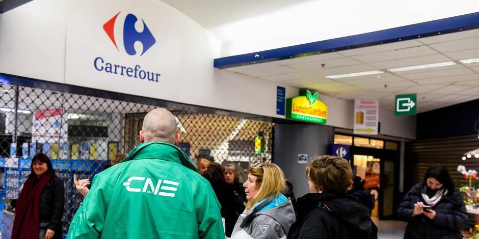 Carrefour: Le front commun furieux d'apprendre l'une des intentions de la direction - La Libre