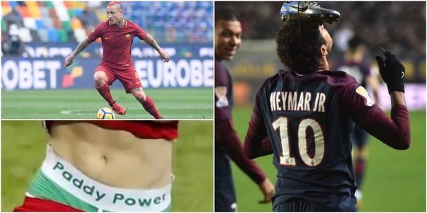 Les cheveux de Nainggolan, la chaussure de Neymar, etc.: quand les joueurs font du marketing - La Libre