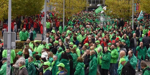 Réforme des pensions: grève dans le secteur public mardi à l'initiative du syndicat socialiste - La Libre