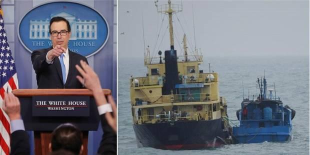 """Trump annonce les sanctions """"les plus lourdes"""" jamais imposées à la Corée du Nord - La Libre"""