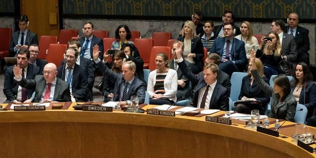 """Le Conseil de sécurité de l'ONU """"réclame"""" à l'unanimité un cessez-le-feu en Syrie - La Libre"""
