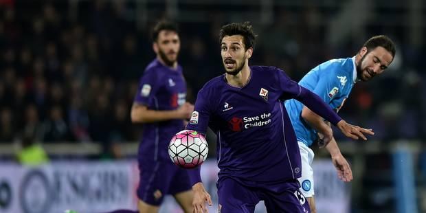 Le joueur de football de la Fiorentina, Davide Astori, est décédé cette nuit - La Libre