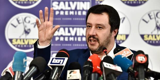 """L'Europe scrute la situation italienne où l'extrême-droite revendique le """"droit et le devoir de gouverner"""" - La Libre"""