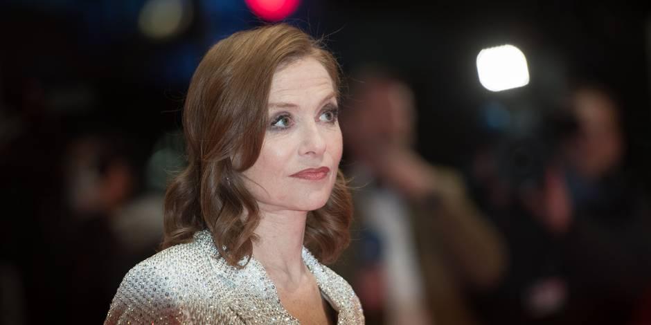 """Isabelle Huppert: """"Jouer un personnage ne m'intéresse pas"""" - La Libre"""