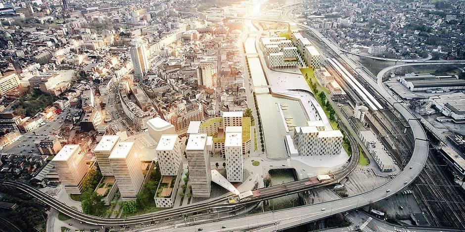 Charleroi: nouveaux bureaux pour la FGTB