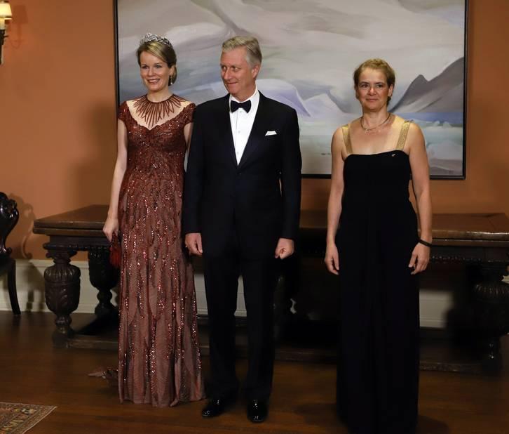 Avec la gouverneure générale, Julie Payette.