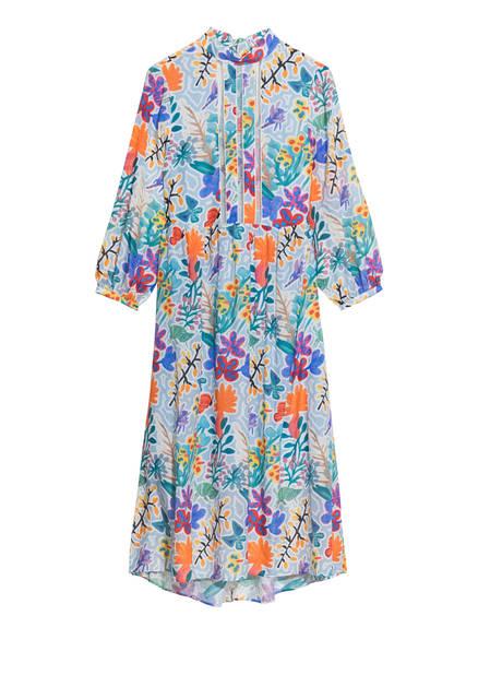 Floral print dress - 125€