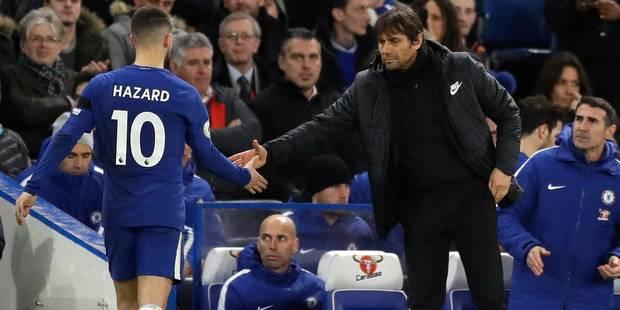 Barcelone - Chelsea: Conte lance une pique à l'attention d'Hazard en conférence de presse - La Libre
