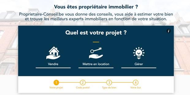 """""""Propriétaire-conseil.be"""", un site dédié aux propriétaires de biens en Belgique - La Libre"""