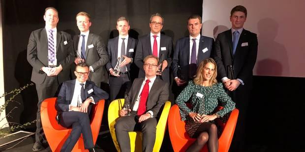 Voici les lauréats des Sicav de Cristal 2018 - La Libre