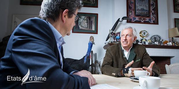 """Etats d'âme avec Eric Domb: """"Il n'y a pas d'échec, il n'y a que des leçons"""" (VIDEO) - La Libre"""