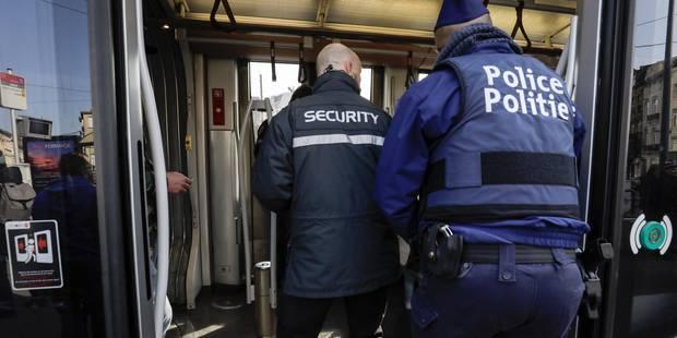 Grosse opération de contrôle dans les transports bruxellois: 20 points du réseau Stib ciblés ce lundi - La Libre