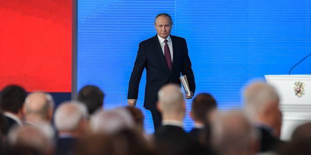 Les alliés de la Russie félicitent Poutine pour sa réelection, la plupart des Occidentaux sur la réserve - La Libre