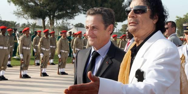 Nicolas Sarkozy placé en garde à vue dans le dossier du financement libyen de sa campagne de 2007 - La Libre