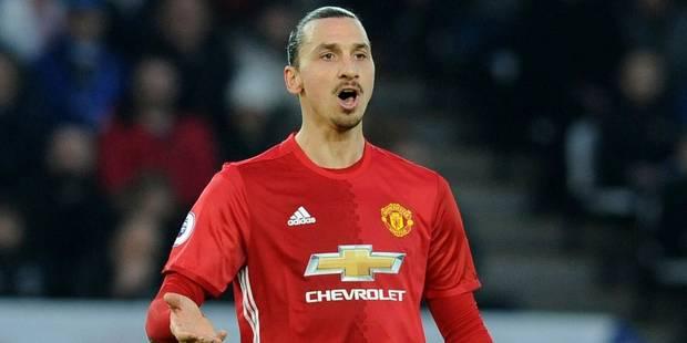 Manchester United rompt le contrat de Zlatan Ibrahimovic qui devrait rejoindre les LA Galaxy - La Libre