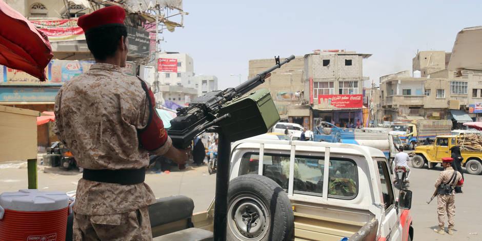 Yémen: Manifestation monstre des rebelles pour le 3e anniversaire de la guerre