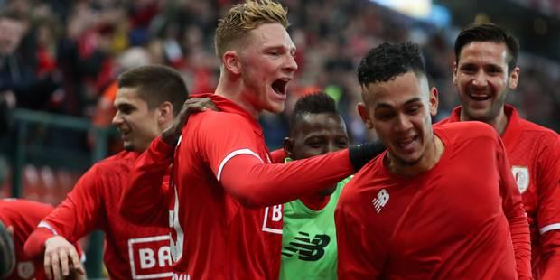 Le Standard s'impose face à Charleroi en ouverture des playoffs, 1-0 - La Libre