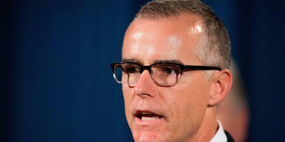 Viré par Trump, l'ancien chef adjoint du FBI récolte 500.000 dollars pour ses frais de justice