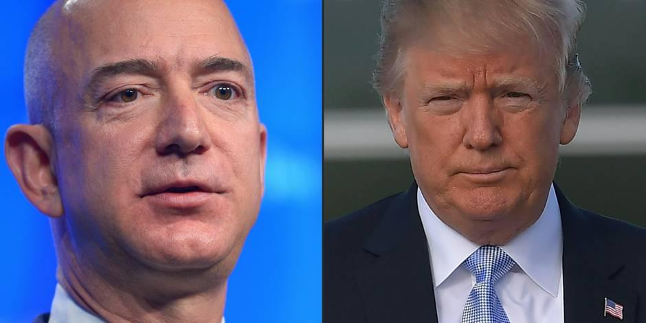 Quand Donald Trump s'en prend au patron d'Amazon…