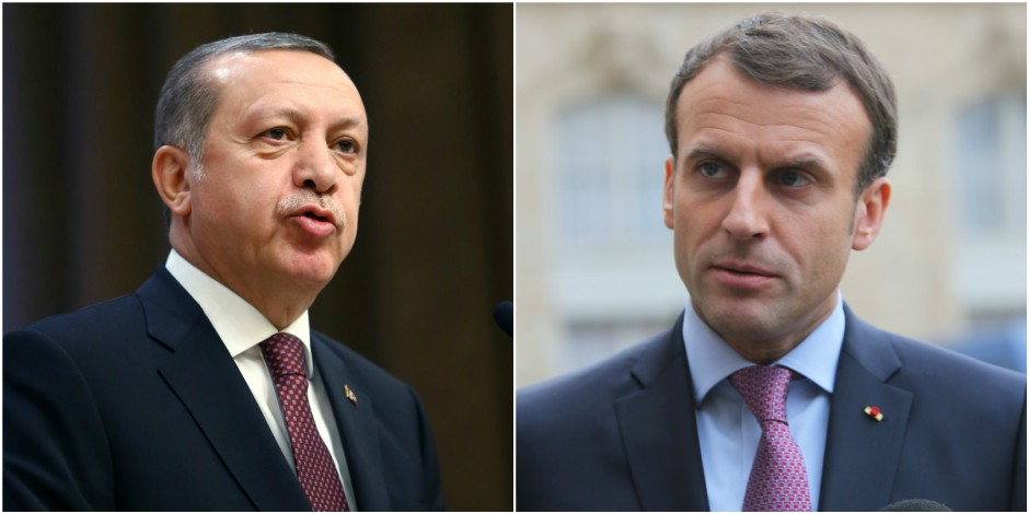 Erdogan accuse la France d'encourager le terrorisme