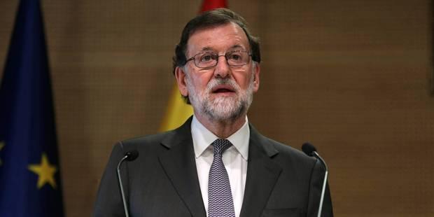 """Crise en Catalogne: Rajoy veut un président catalan """"viable"""" et respectueux de la loi - La Libre"""