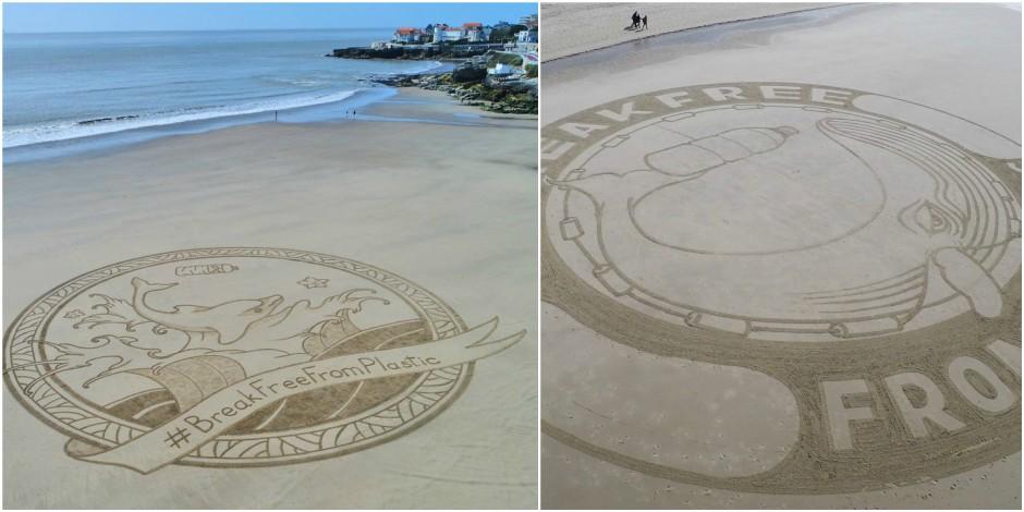 D'où viennent ces mystérieuses sculptures de sable qui apparaissent sur les plages d'Europe?