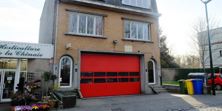 caserne pompier uccle