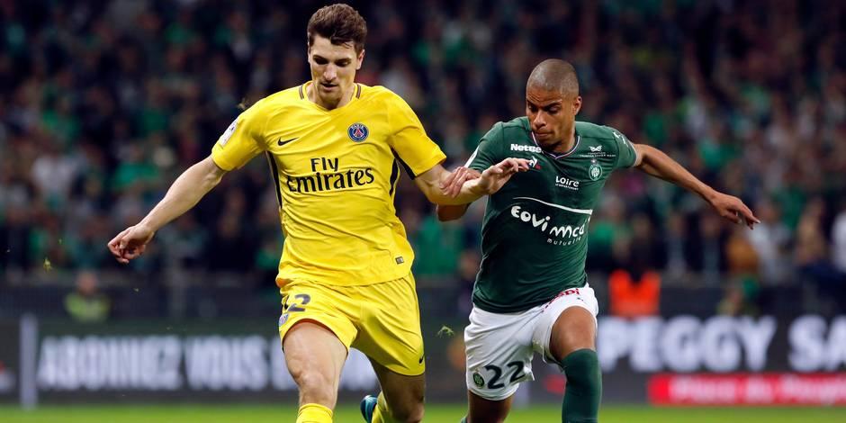 """Frustré au PSG, Thomas Meunier se verrait bien à """"Everton, Valence ou Dortmund"""""""