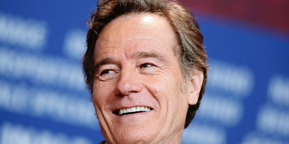 Bryan Cranston attends a news conference for the movie 'Isle of Dogs' during the 68th edition of the International Film Festival Berlin, Berlinale, in Berlin, Germany, Thursday, Feb. 15, 2018. (AP Photo/Markus Schreiber)