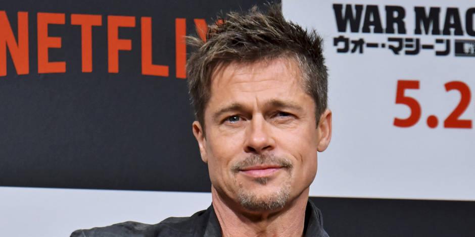 """Brad Pitt : En couple avec une brillante architecte, l'acteur n'a """"jamais été aussi heureux"""""""