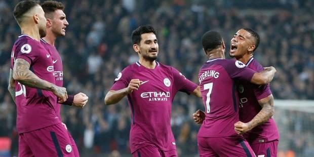 Manchester City profite du faux pas de son rival United pour devenir champion d'Angleterre - La Libre
