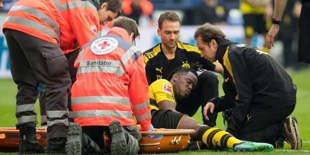 Batshuayi forfait jusqu'à la fin de la saison avec le Borussia, mais sa présence au Mondial est possible - La Libre