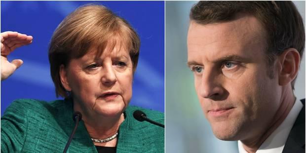 La CDU de Merkel critique les projets de réformes de la zone euro de Macron - La Libre