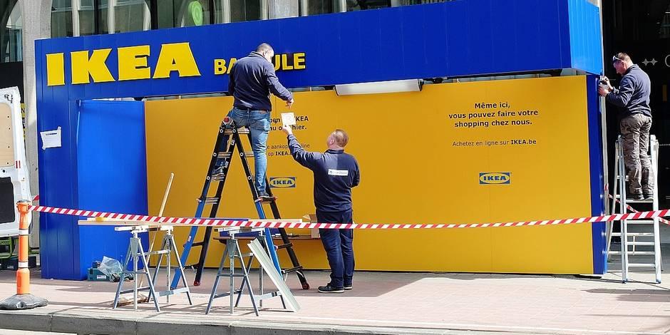 """Ikea Belgique planche sur l'ouverture de magasins """"petits formats"""" (VIDEO) - La Libre"""