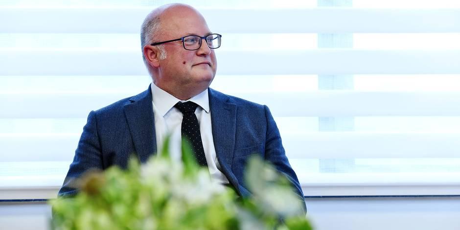 Jean Luc Crucke MR ministre Budget gouvernement Wallonie Frasnes-lez-Anvaing