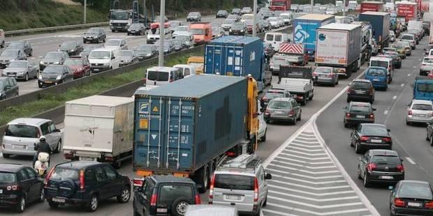 Embouteillages sur la E40 et sur le ring de Bruxelles - La Libre
