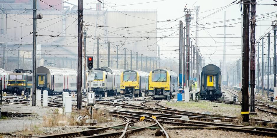 Polémique à la SNCB: des cheminots remplacés par des vigiles du secteur privé - La Libre