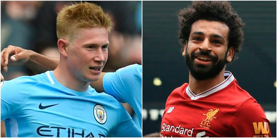 EMBARGO LUNDI 01h01 : Kevin De Bruyne devancé par Salah pour le joueur de l'année de Premier League