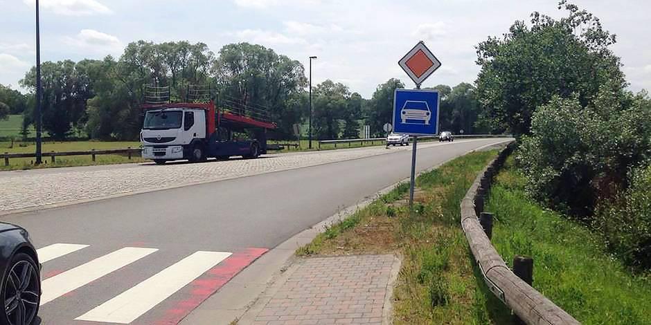 Brabant wallon: les tracteurs sur la N25 font débat