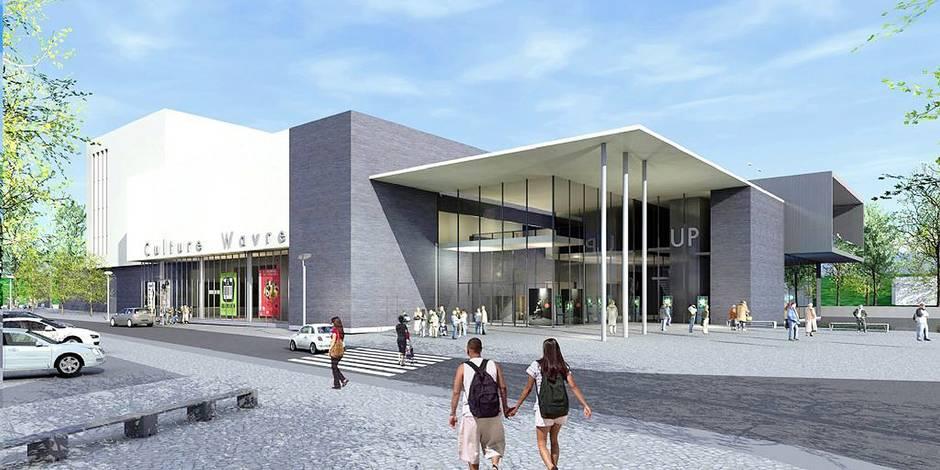 Un nouveau hall culturel à Wavre