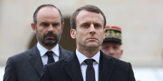 La popularité d'Emmanuel Macron et d'Edouard Philippe grimpe encore malgré les conflits sociaux - La Libre